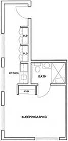 Studio Corner Unit Plan